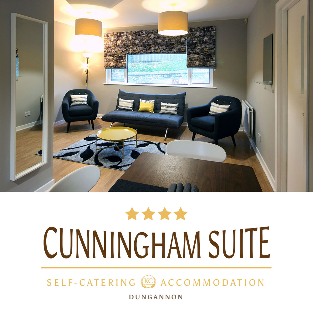 Cunningham Apartment Suit - Book Best self-catering accommodation in Northern Ireland