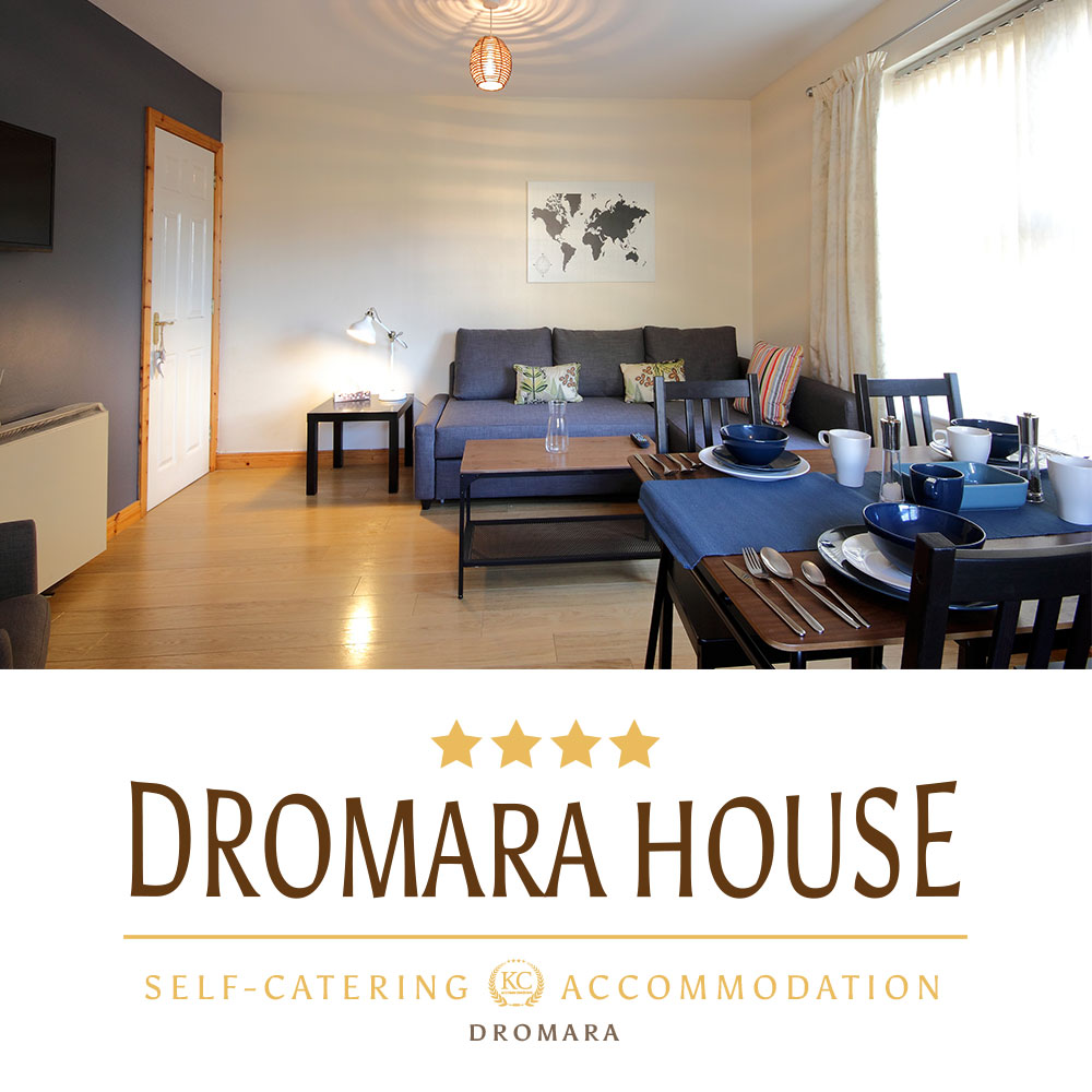 Book best holiday or business accommodation - self catering - Dromara House in Northern Ireland.