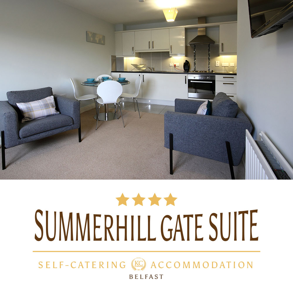 Visit self catering Summerhill Gate Suite in Dungannon a perfect accommodation for your break.